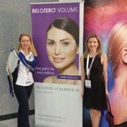 Участие в I Европейском практическом Академическом тренинге по эстетическому лечению лица