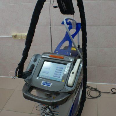 Наше оборудование: кожный лазер